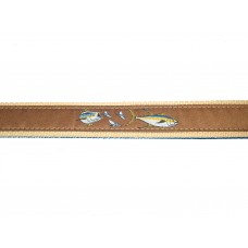 Zep-Pro Yellow Tuna Ribbon Belts - BTR4BR