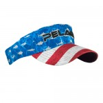 Pelagic Performance Visor-Americamo - 1207191002 - Blue