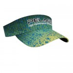 Pelagic Performance Visor Dorado Hex - Green