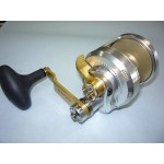 Accurate Fury 2-Speed Silver/Gold Conventional Fishing Reel FX2-600