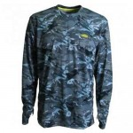 Aftco Caster Long Sleeve Sun Tee Shirt - M61107 - Blue Camo