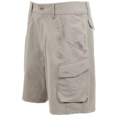 Aftco Stealth Fishing Shorts - M80 - Khaki
