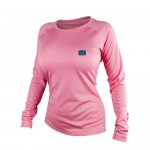 Avid Ladies Core AVIDry Long Sleeve Shirt - Pink - AVW900PK