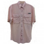 Bimini Bay Flats III Short Sleeve Shirts - Pink - 11656