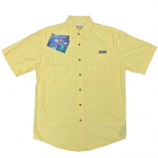 Bimini Bay Flats III Short Sleeve Shirts - Sunray - 11656