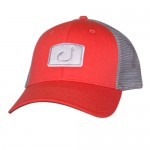 Avid Tribal Trucker Hat - AVH552CO - Coral Grey
