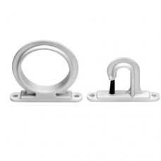 Dubro Trac A Rod Holders - Extra Hooks - White - 1070