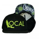 Florida Local Uncharted Snapback Hat SNP-UNC-BLKLIM-00  - Black Lime