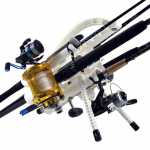 FX Products Rod Runner Pro 5 Fishing Rod Carrier - White