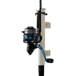 FX Products Rod Runner Uni Mount Fishing Rod Holder - White