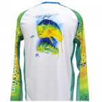 Guy Harvey Pro UVX Performance Tee - Phaser - White - MH62571