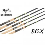 G Loomis E6X Jig & Worm Casting Rods