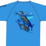 Bimini Bay Hook Em Shirt - Marlin - Marina - 27139A-MARI-MAR