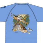 Bimini Bay Hook Em Shirt - Snook - Grapemist - 27139A-GPM-SNK