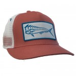 Karma Fishing Florida Mahi Ultimate Trucker Hat - Coral