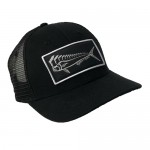 Karma Fishing Florida Mahi Ultimate Trucker Hat - Black