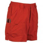 Aftco Original Fishing Shorts - Red - M01