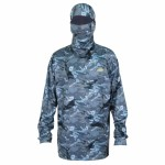 Aftco Fish Ninja 2 Performance Hoodie - Blue Camo - M63101-BLU