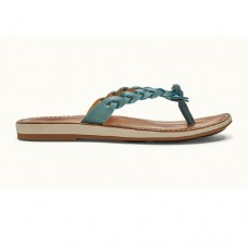 OluKai Kahiko Ladies Sandals - Sea / Tan - 20352-SV34