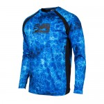 Pelagic Vaportek Dorado Performance Shirt - 1015181005 - Blue