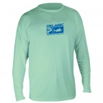 Pelagic Aquatek Performance Shirt Long Sleeve - MLS7650 - Seafoam