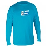 Pelagic Aquatek Performance Shirt Long Sleeve - MLS7650 - Aqua