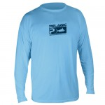 Pelagic Aquatek Performance Shirt Long Sleeve - MLS7650 - Lt Blue