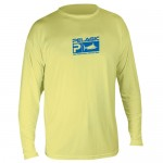Pelagic Aquatek Performance Shirt Long Sleeve - MLS7650 - Yellow