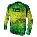 Pelagic Vaportek Dorado Performance Shirt - 1015191003 - Green