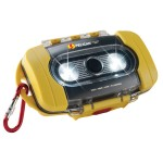 Pelican 9000 Yellow Waterproof Case & LED Light