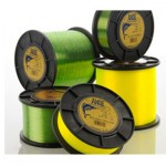 Ande Tournament Monofilament - 1 lb Spool - 10 Lb Test Line - Hi Vis Yellow - TY-1-10
