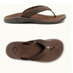 OluKai Ohana Ladies Sandals - Dark Java - 20198-4940