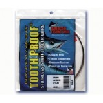 AFW Tooth Proof Leader Wire - 1/4 Pound Coil - Brown