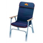 Garelick Padded Deck Chair - 35029-62 - Navy