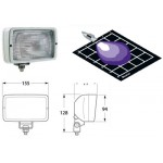 Hella Marine Halogen Deck Floodlight