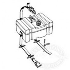 TH Marine Fuel Container Hold Down Kit