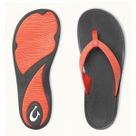OluKai Kulapa Kai Ladies Sandals - Coral - 20198-4940