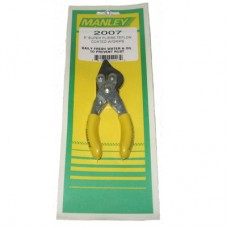 Manley 2007 - 5 Inch Pliers Rust Resistant Teflon Coating with Grips