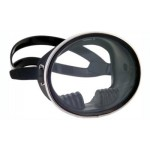 Marine Sports Black Rubber Oval Dive Mask - 4027