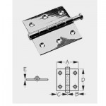 Sea Dog Door Hinges - Removable Pin - Butt Hinges