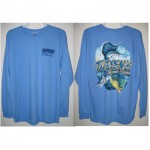 Tuppen's Marine  Performance Tee Shirts - Long Sleeve