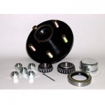 Waterland Trailer Hub Kit Galvanized - 4 Lug - 95-HK3G