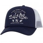 Salt Life Fish Surf Dive Men's Mesh Hat - New Navy