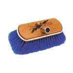 Starbrite Deluxe Wooden Brush - Soft - Blue - 40151