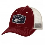Salt Life Red White and Bluefin Hat - SLM299 - Cardinal