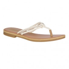 Womens Sperry Anchor Coy Flip Flops - Natural - STS80117