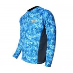 Tormenter SPF Performance Shirt - Marlin Camo Blue- SPFMC-B