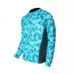 Tormenter SPF Performance Shirt - Marlin Camo Teal- SPFMC-T