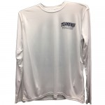 Tuppen's Brand Performance Tee Shirts - Long Sleeve - White