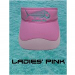 Tormenter Ladies Kissing Turtles Visor - Pink